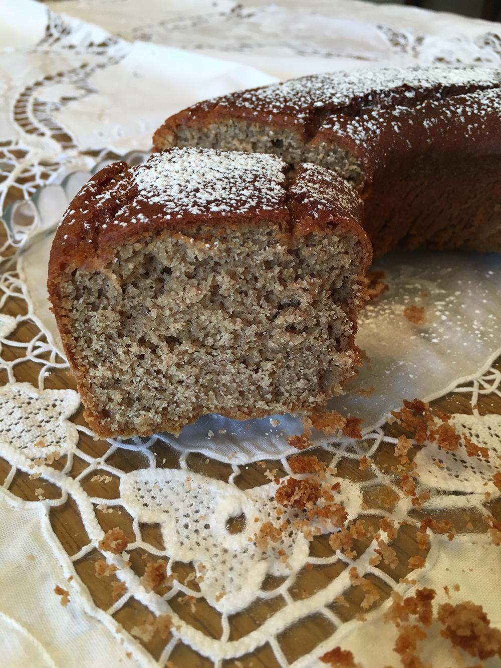 Torta soffice alle castagne senza glutine
