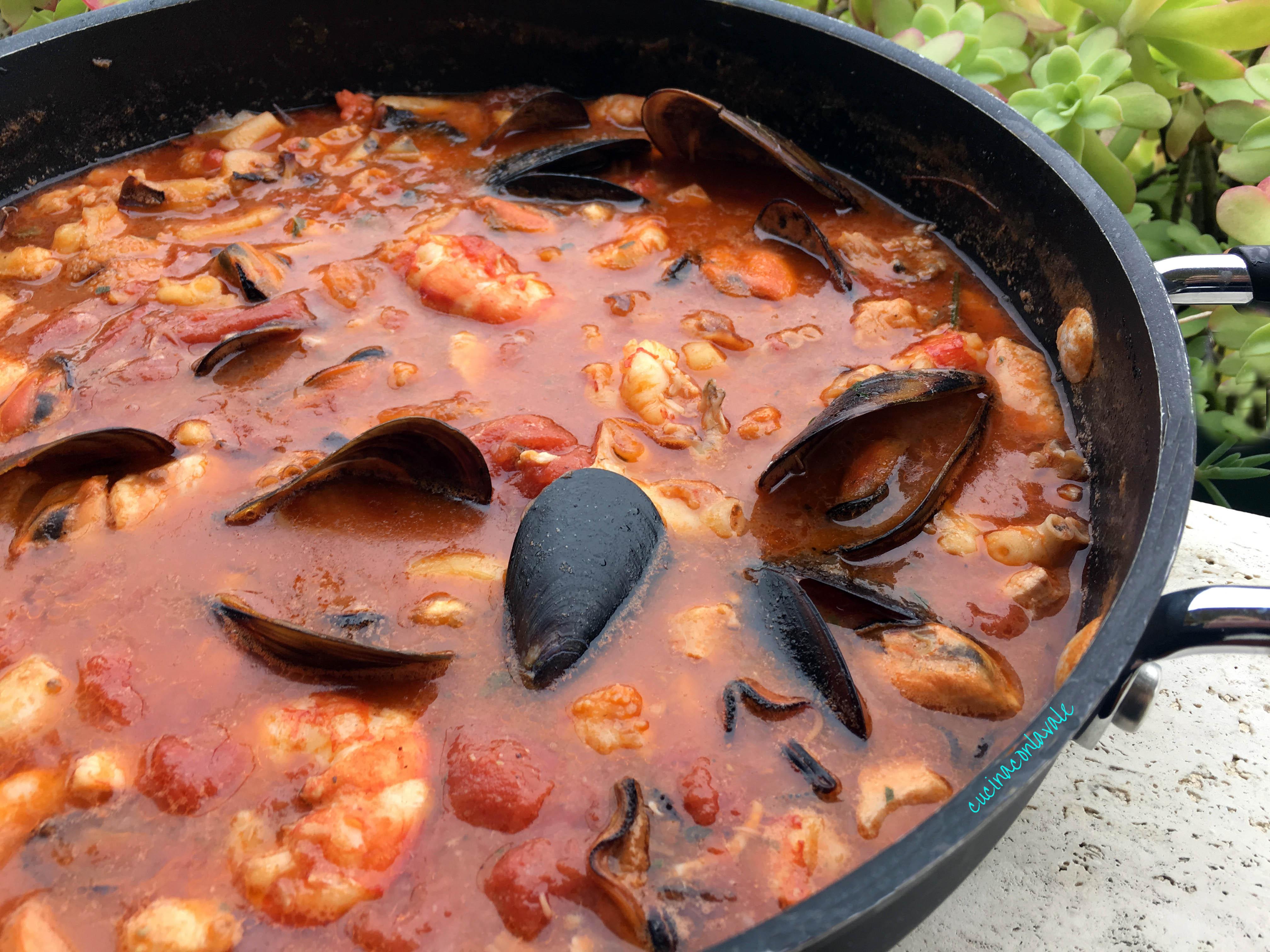 Zuppa Di Pesce Ricetta Facile Cucina Con La Vale