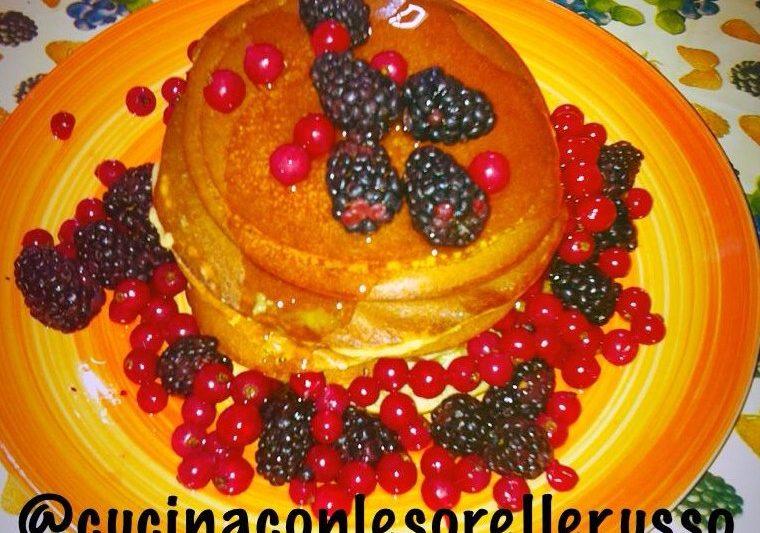 Pancake americani originali, colorati e saporiti
