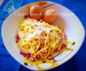 Spaghetti alla carbonara gusto e proteine in un sol piatto for Piatto tipico romano