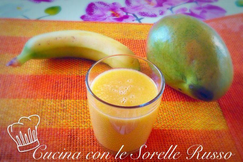 Tropical sensation: banana, pompelmo e mango