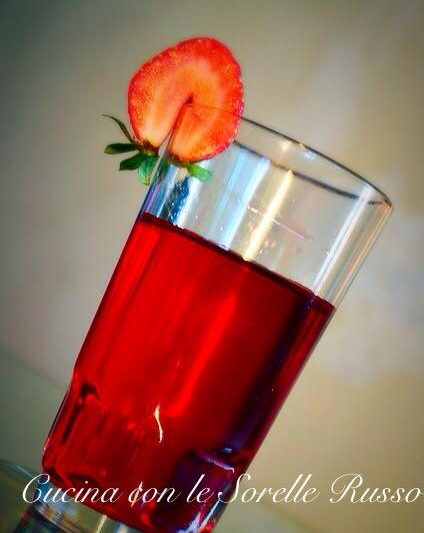 Liquore alle fragole homemade