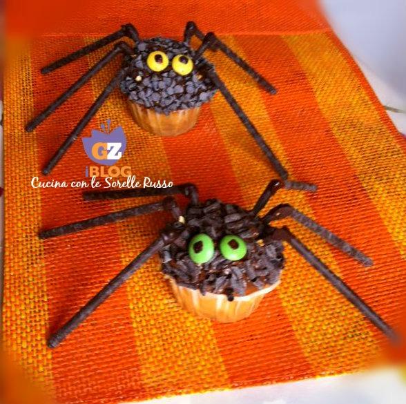 Spider-muffin di Halloween