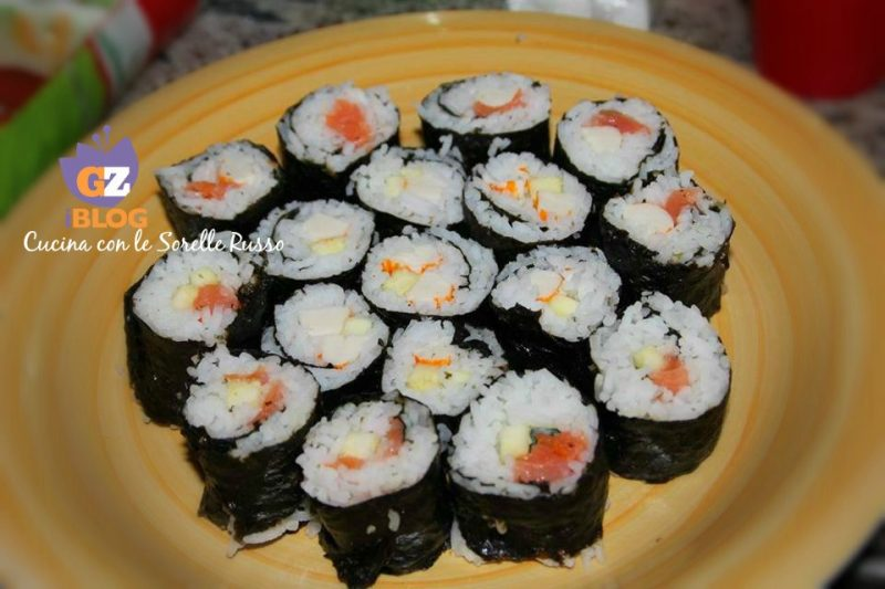 Il Sushi vegetariano