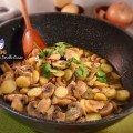Spadellata di funghi e patate