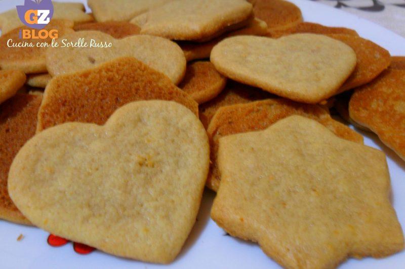 Biscotti allo zenzero e mandarino