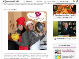 il giornale del cibo-cucina con le sorelle russo