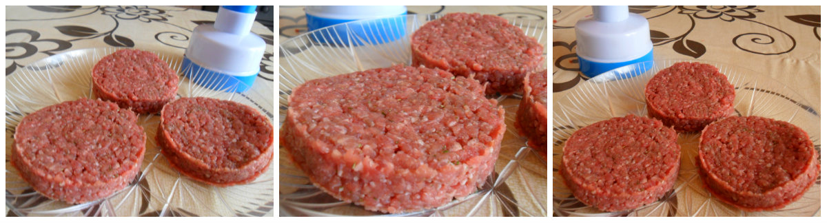 hamburger fatti in casa 2