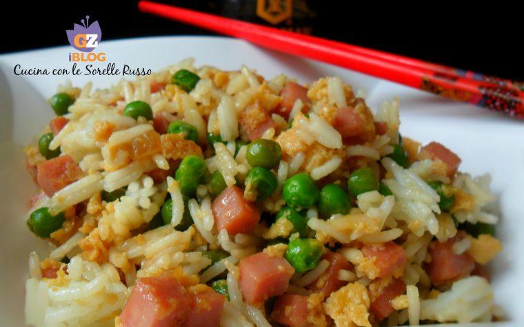 Riso alla Cantonese, variante senza gamberetti
