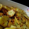 patate grigliate all'aglio e rosmarino