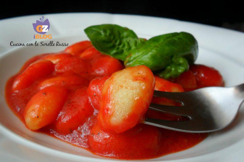 Gnocchi alla crema di pomodoro