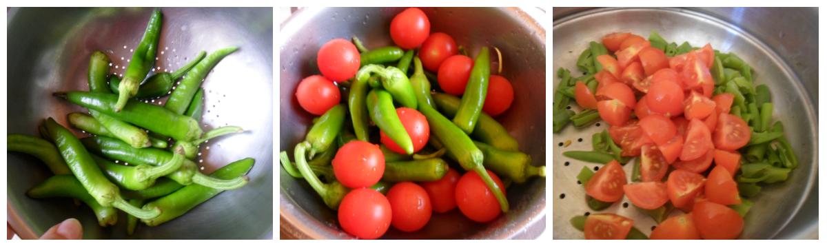 Rigatoni ai peperoncini verdi