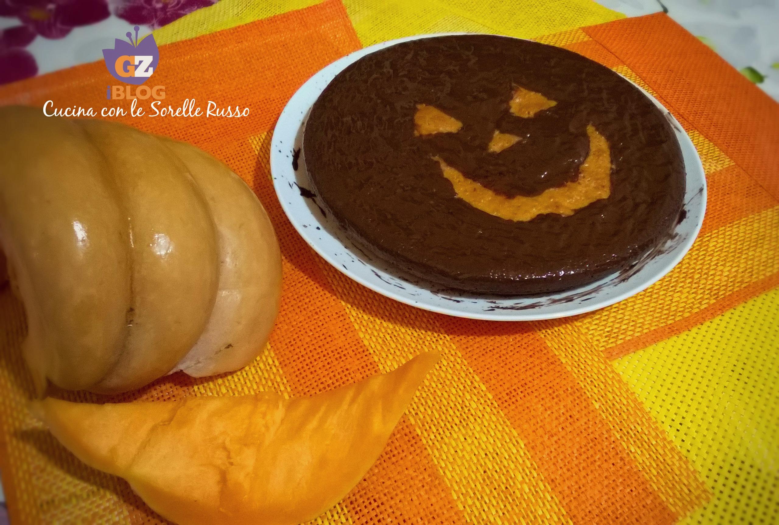 Torta di zucca di Halloween | Cucina con le Sorelle Russo