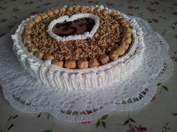 Cheesecake alla nutella senza glutine