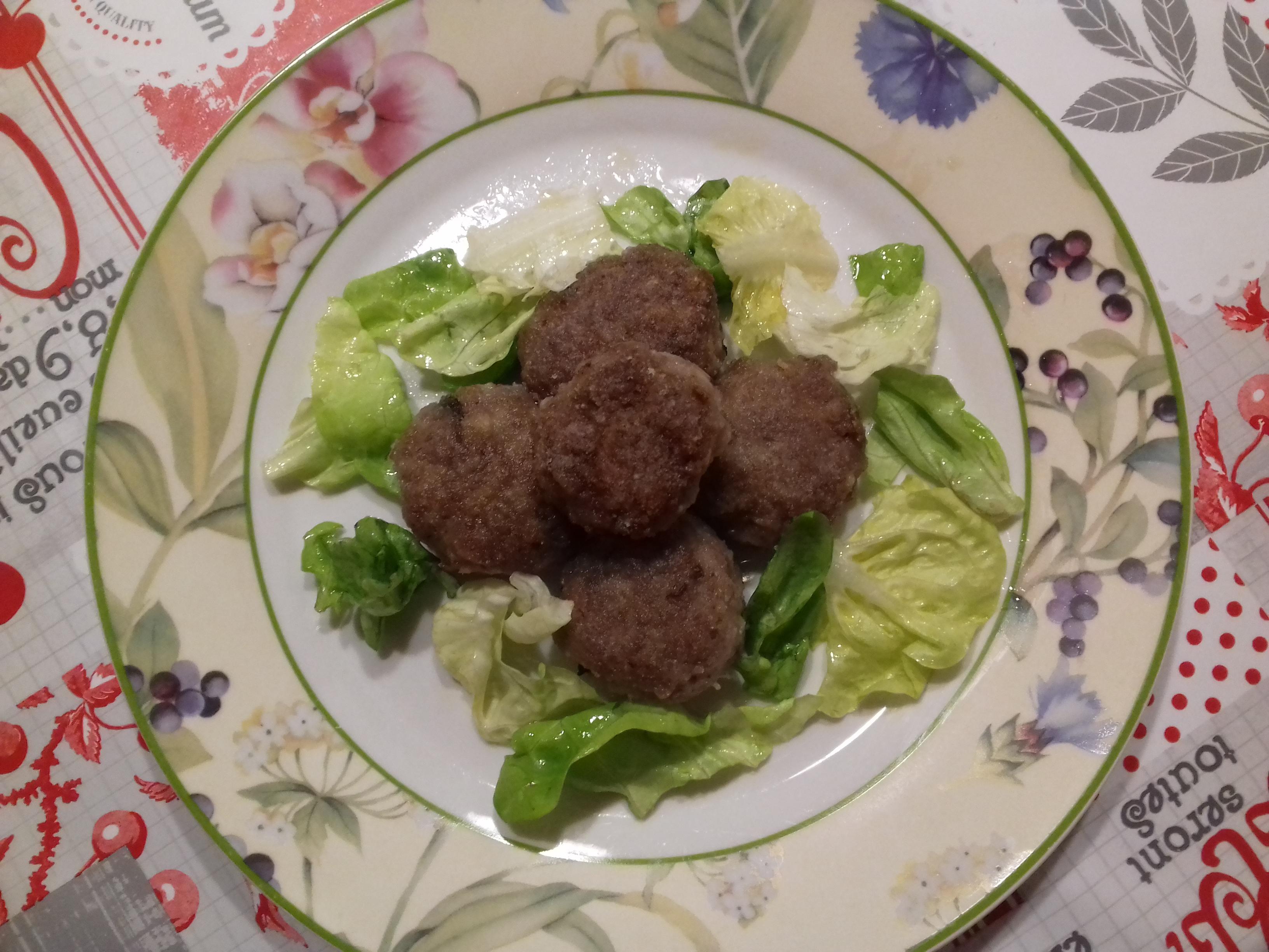 Polpettine di carne e melanzane senza glutine