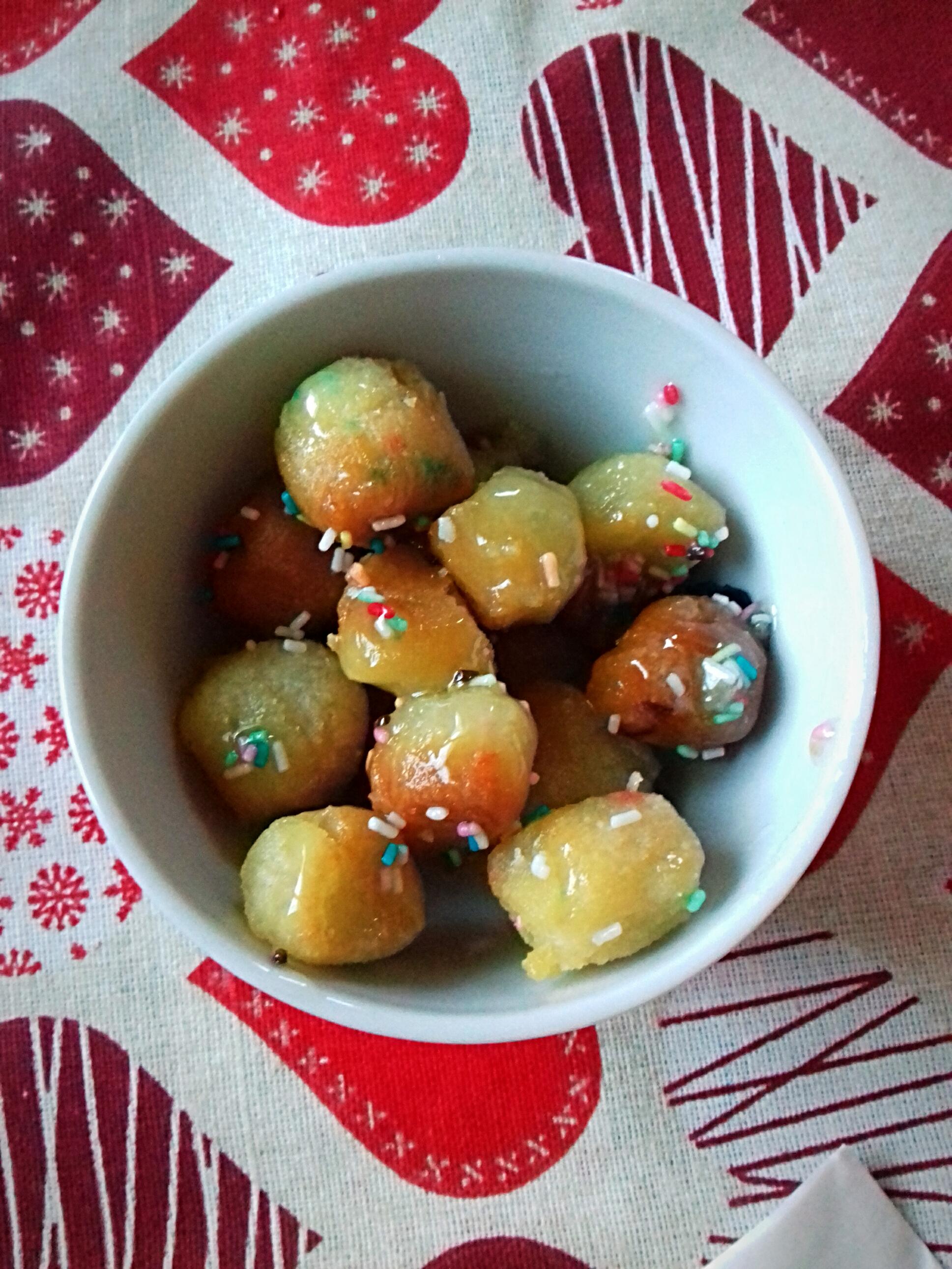 Struffoli senza glutine