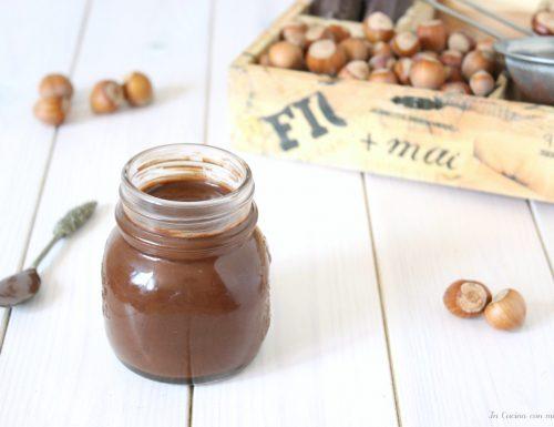 Crema gianduia senza bimby – nutella fatta in casa