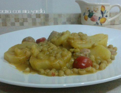 Patate Golose – patate con salsiccia in umido
