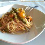 spaghetti vongole asparagi1