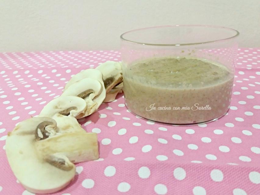 Toast alla crema di funghi