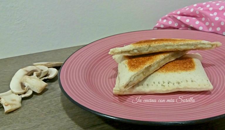 Toast alla crema di funghi - foto articolo