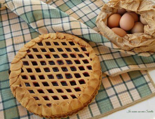 Crostata di marmellata (con frolla light)