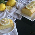 Plum cake alla ricotta e limone