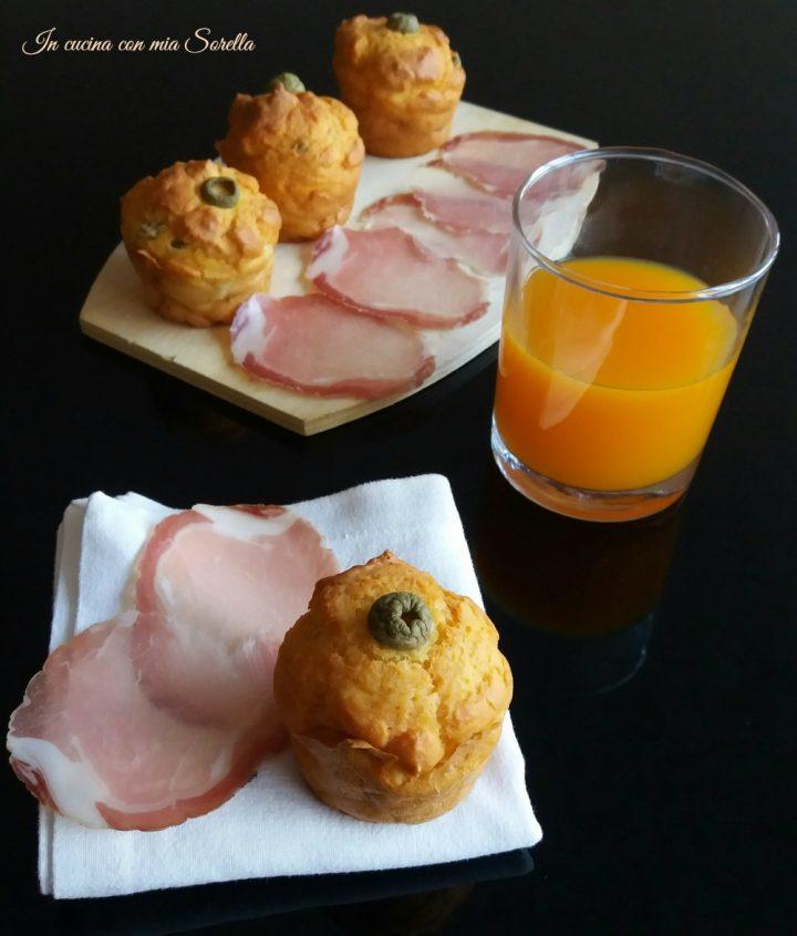 Muffin salati alle olive