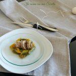 salsiccia e peperoni in padella