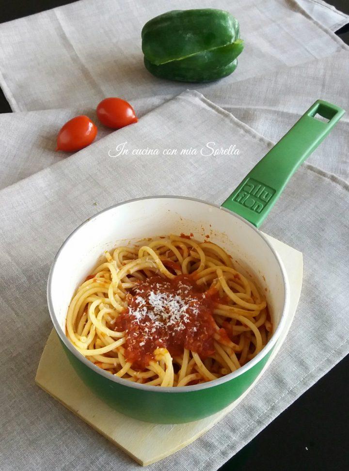 Salsa Piccante al pomodoro e peperone