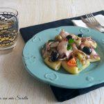 Paccheri al polpo e olive