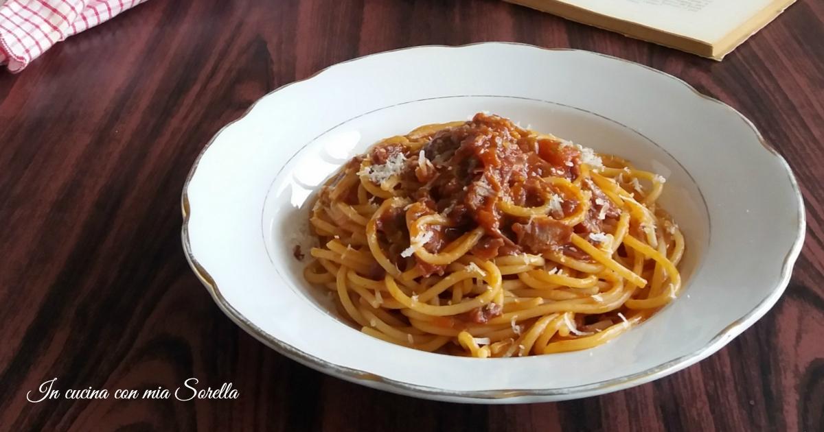 pasta all 39 amatriciana ricetta tradizionale romana in