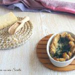 Bocconcini di cotoletta con spinaci filanti