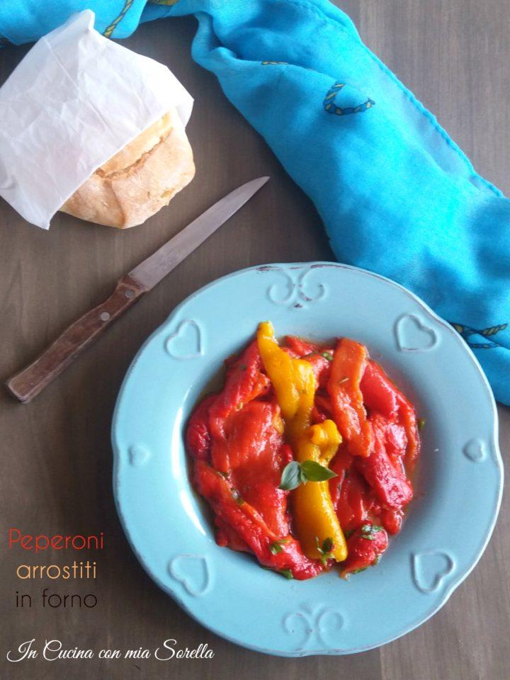 Peperoni arrostiti in forno