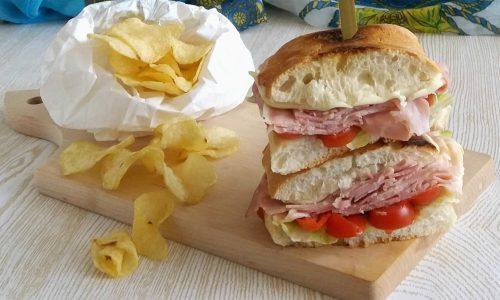 Club Sandwich alla italiana