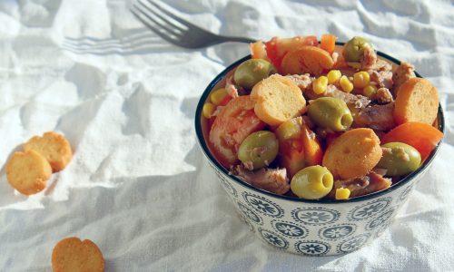 Insalata di pomodori ricca