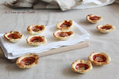 Cestini alla pizzaiola – finger food veloce