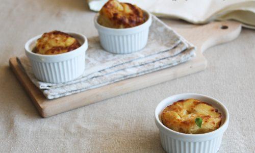 Gratin di patate e formaggi