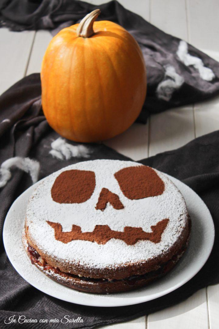 Torta soffice di Halloween - In cucina con mia sorella