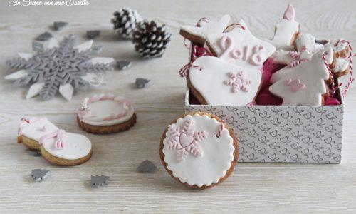 Biscotti decorati da appendere – ricetta natalizia
