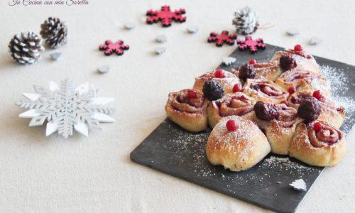 Albero di Natale ai frutti di bosco