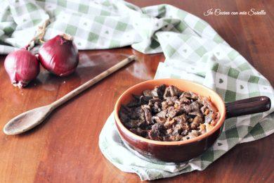 Fritto di maiale alla eugubina – quinto quarto con cipolla
