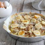 Torta di patate e uova sode