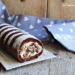 Rotolo cioccolato panna e nocciole
