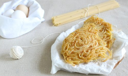 Frittatine di spaghetti napoletane