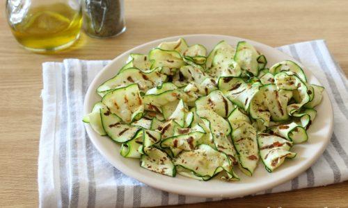 Zucchine grigliate – contorno leggero