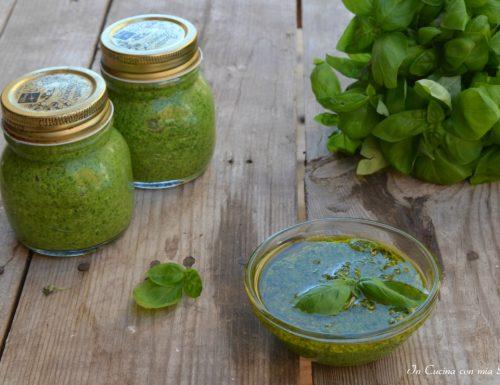Pesto genovese ricetta e conservazione