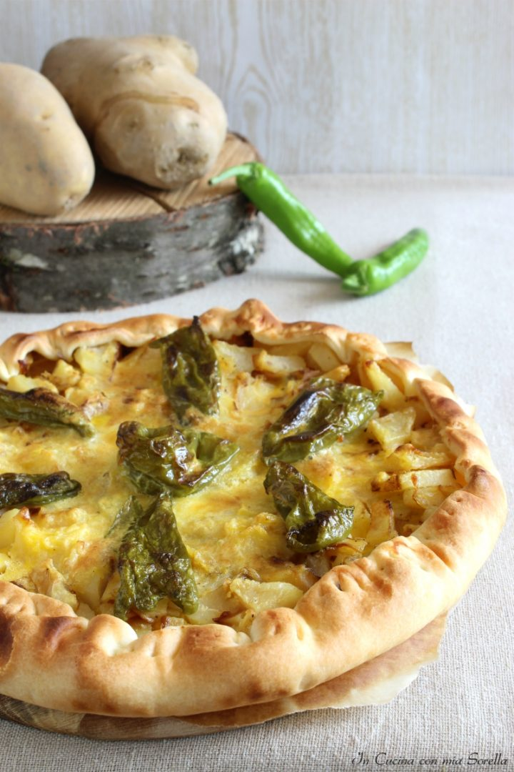 Quiche patate e friggitelli
