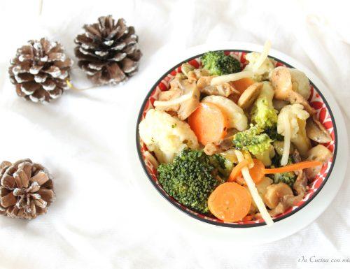 Insalata di broccoli e cavolfiori sfiziosa
