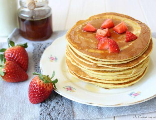 Pancake tradizionali o frittelle americane